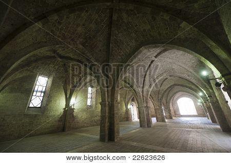 Rieti (lazio, Italy) - Historic Portico