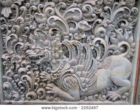 Bali Bas Relief