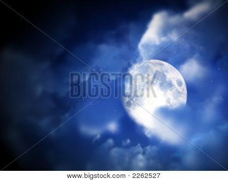 Moon Night Sky 12