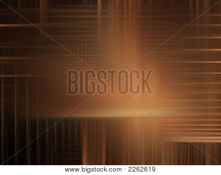 Digital Abstact Background - Softly Woven Brown