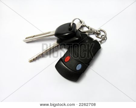 2 Car Keys With Remote Control