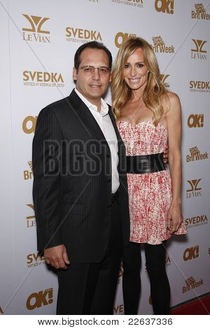 WEST HOLLYWOOD - FEB 25: Taylor Armstrong is with her husband Russell Armstrong at the OK! Magazine and BritWeek celebrate the Oscars party in West Hollywood, California on February 25, 2011