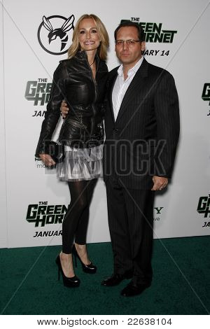 LOS ANGELES - JAN 10: Taylor Armstrong is with her husband Russell Armstrong at the premiere of 'The Green Hornet' at Grauman's Chinese Theater in Los Angeles, California 10 January 2011