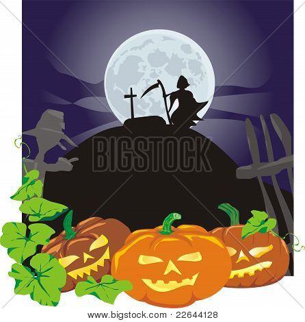 Halloween - vicious pumpkins