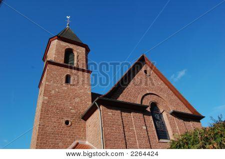 Church In Mittelbrunn, Germany