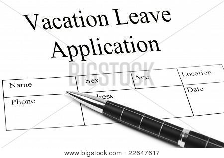 Vacation Application