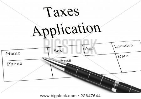 Taxes Application