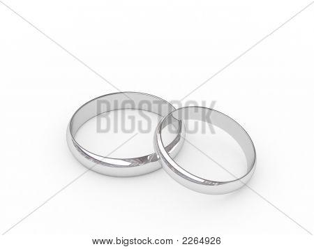 Platinum Or Silver Wedding Rings