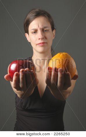 Apples And Oranges - No Comparison!