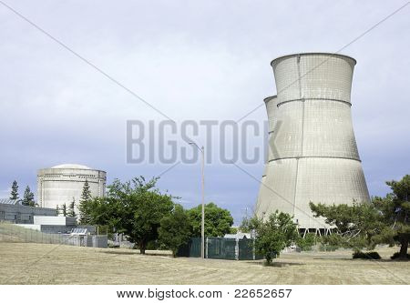 reactor and towers