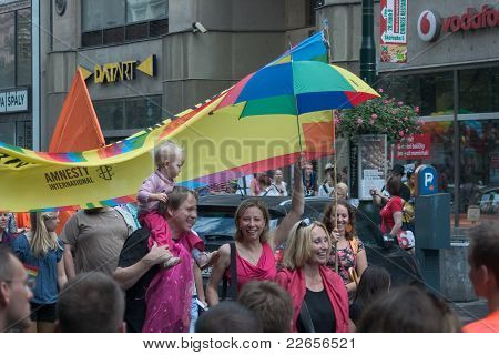 Prague Pride Parade 2011