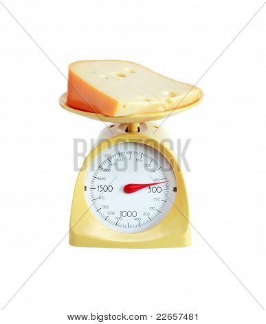 Cheese Weighing