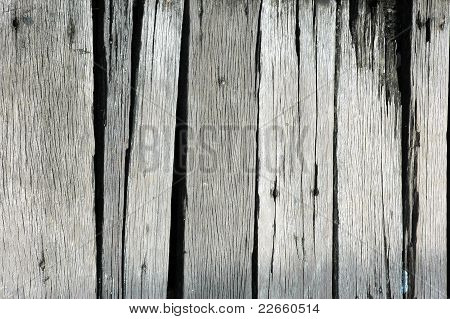 Texture Of The Old Wooden Bridge