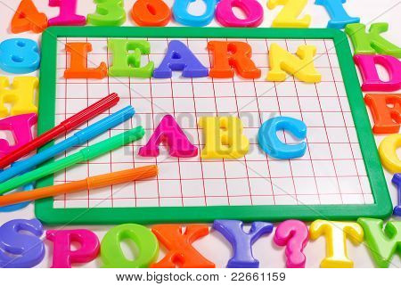 Learn Abc Background