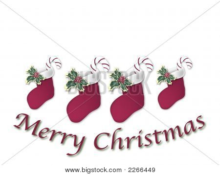 Christmas Stocking Sign 1