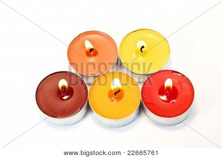 Colore Candles
