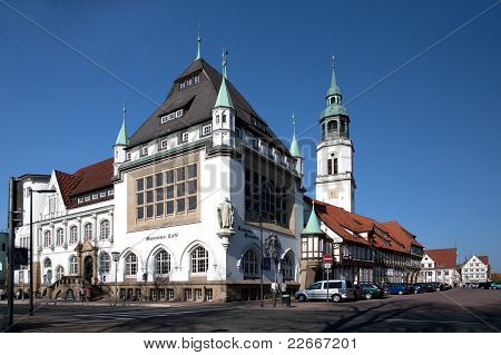 Residence City Celle in Lower Saxony