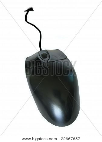 Mouse with pseudo pointer