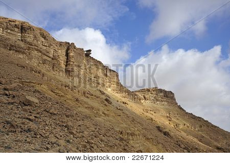 Cliff of Ramon crater.