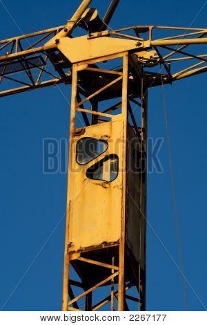 Rusty Crane Detail