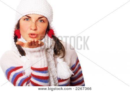 Beijo do ar de Inverno