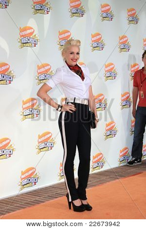 LOS ANGELES - MAR 31: Gwen Stefani at the 2007 Kids' Choice Awards at UCLA in Los Angeles, California on March 31, 2007