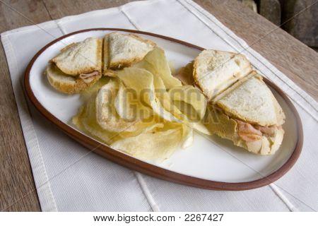 Two Sandwichs & Snacks