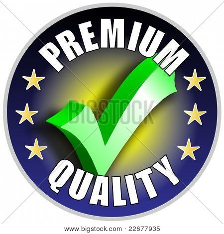 Premium Quality Button/Label