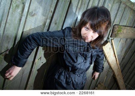 Tough Young Girl