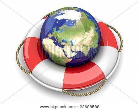 Worlds Life Belt...