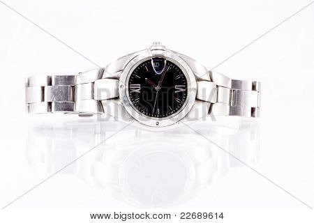 Fashion Watch Isolated On White Background