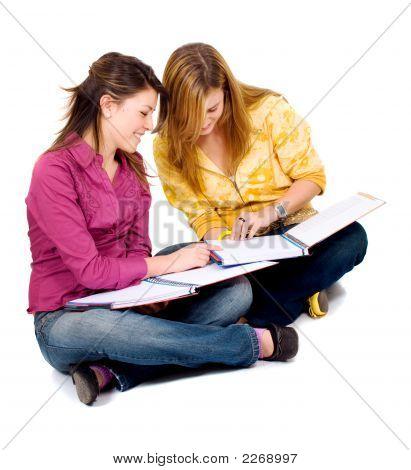 Female Teenage Students