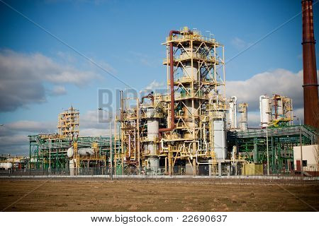 Nitrogen Chemical Plant In Poland