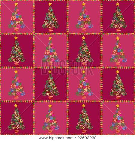 Christmas Tree Seamless