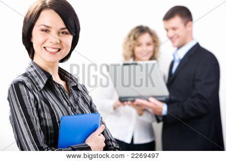 Aantrekkelijke Consultant