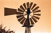 foto of wind-turbine  - Windmill  - JPG