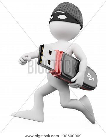 Ladrón 3D - Hacker