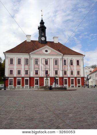Townhall Of Tartu