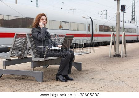 Waiting Time At The Train Station