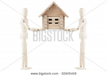 Dummy With House