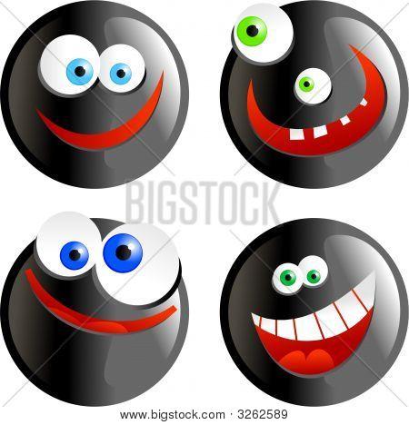 Black Smilies