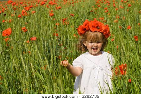 Running On The Poppy Field