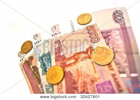 Coins And Banknotes Of Russia