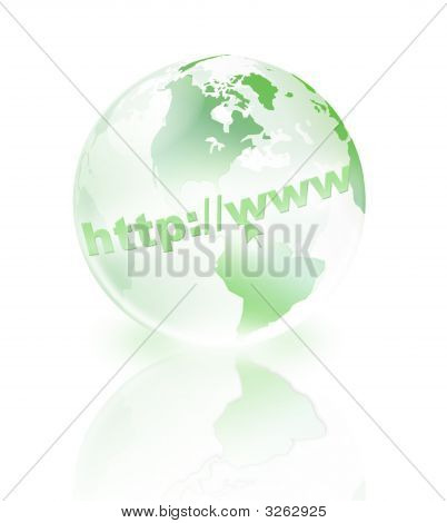 Green Crystal World