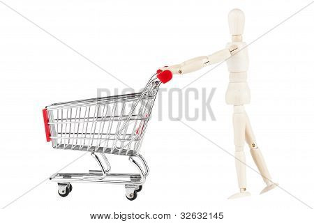Dummy And Shopping Cart