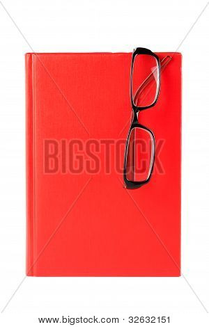 Red Book And Glasses
