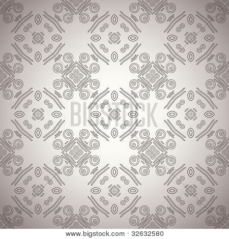Seamless ornamental ethnicity pattern