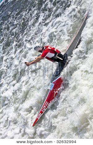 C1 slalom white water