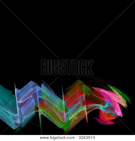 High Resolution Multicolored Background Illustration