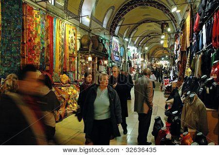 Inside in the Grand Bazaar, Istanbul, Turkey